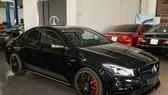 Mercedes-Benz CLA45 AMG Yellow Night Edition, giá 2,578 tỷ đồng