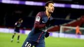 Neymar nhiều khả năng không ra sân trận gặp Caen. Ảnh: Getty Images.