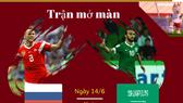 Trận khai mạc World Cup qua những con số