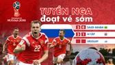 Quà tặng bạn đọc: Poster World Cup 2018 Tuyển Nga đoạt vé sớm (poster khổ lớn)
