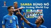 Quà tặng bạn đọc: Poster Neymar, Coutinho bùng nổ đấu trường World Cup (khổ lớn)