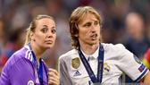 Luka Modric và cô vợ Vanja Bosnic
