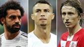 Salah, Ronaldo và Modric