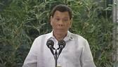 Tổng thống Philippines Rodrigo Duterte. Ảnh CNN