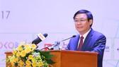 Phó Thủ tướng Vương Đình Huệ phát biểu tại Diễn đàn.