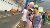 Khách quốc tế đến TPHCM bằng tàu biển cao cấp World Dream cập cảng Tân Cảng – Cái Mép