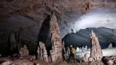 Phong Nha-Kẻ Bàng nổi bật với hệ thống hang động độc nhất vô nhị