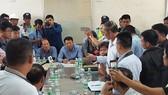 Chủ đầu tư BOT Ninh An lắng nghe kiến nghị của tài xế