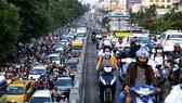 Tình trạng ùn ứ giao thông ở TP.HCM ngày càng diễn ra nghiêm trọng