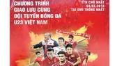 SCB tặng 5.000 vé giao lưu đội tuyển U23 Việt Nam