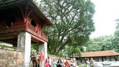 Văn Miếu - Quốc Tử Giám luôn là địa điểm hấp dẫn khách du lịch tại Hà Nội.
