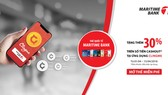 Maritime Bank phối hợp với ứng dụng Clingme ưu đãi tặng thêm 30%