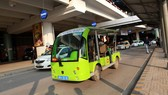 Xe điện dùng trong hoạt động chở khách - Ảnh: TTO