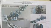 Phối cảnh tổng thể thiết kế đô thị tuyến đường Vành đai 2. (Ảnh Mạnh Khánh/TTXVN)