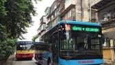 Xe buýt Hà Nội. (Ảnh: Việt Hùng/Vietnam+)