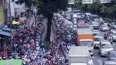 TPHCM: Người dân tránh kẹt xe qua hình ảnh trên zalo