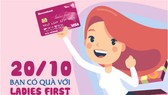 Sacombank ưu đãi chủ thẻ Visa Ladies First