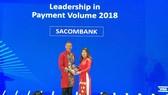 Sacombank nhận 5 giải thưởng trong hoạt động thẻ