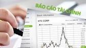 Lập báo cáo tài chính tổng hợp theo kỳ kế toán năm