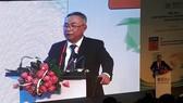 TS Nguyễn Văn Phúc, Hiệu trưởng EIU phát biểu khai mạc diễn đàn