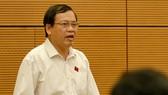 ĐBQH Vũ Trọng Kim phát biểu tại phiên họp