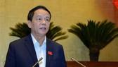 Chủ nhiệm Ủy ban Quốc phòng và An ninh của Quốc hội Võ Trọng Việt