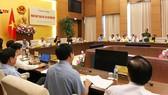Toàn cảnh phiên họp toàn thể lần thứ 11 của Ủy ban Tư pháp