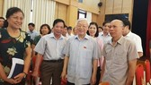 Tổng Bí thư Nguyễn Phú Trọng với cử tri quận Ba Đình, Hoàn Kiếm (Hà Nội)  