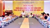 Phó Trưởng Ban Dân nguyện thuộc UBTVQH Đỗ Văn Đương đã chủ trì Hội nghị triển khai công tác tiếp công dân phục vụ kỳ họp thứ 6 của Quốc hội
