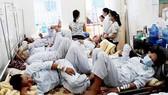 Hình ảnh thường thấy tại các bệnh viện tuyến trên