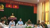 Công an TPHCM họp báo về vụ nổ trước trụ sở Công an phường 12, quận Tân Bình