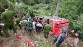 Một tai nạn xảy ra tại đèo Lò Xo
