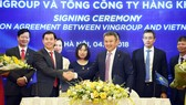 Vietnam Airlines và Vingroup ký thoả thuận chung