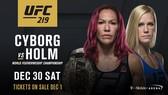 Chris Cyborg sẽ đấu với Holly Holm