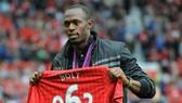 Usain Bolt rất say mê Quỷ đỏ thành Manchester