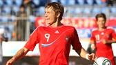 Roman Pavlyuchenko trong màu áo tuyển Nga