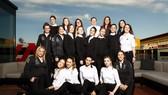 Hình ảnh chúc mừng ngày Quốc tế Phụ nữ của Đội đua F1 Mercedes