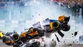 Pha tai nạn kinh hoàng giữa xe của Leclerc và Alonso