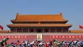 Một cược đua xe đạp ngang Quảng trường Thiên An Môn