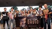 Các CĐV Juventus ở Việt Nam trong lần đón David Trezeguet