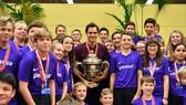 Roger Federer đã lại lên ngôi ở Basel