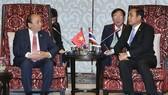 政府總理阮春福與泰國總理巴育會晤。