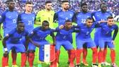 法國足球隊。