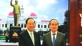 市委書記接見中共中央宣傳部長