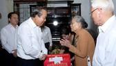 張和平副總理探望優撫家庭