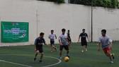 第五郡志願者足球賽
