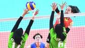 越南女排隊表現出色。