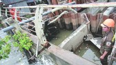 本市治水工程已暫停施工4個月。