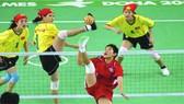 越南女子奪得藤球銀牌。