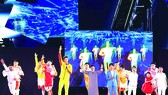 閉幕式上的杭州8分鐘。